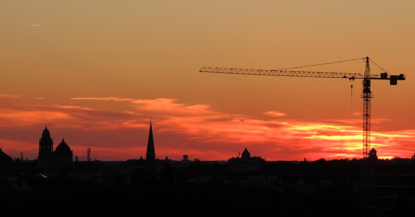 Of Cranes & Churches